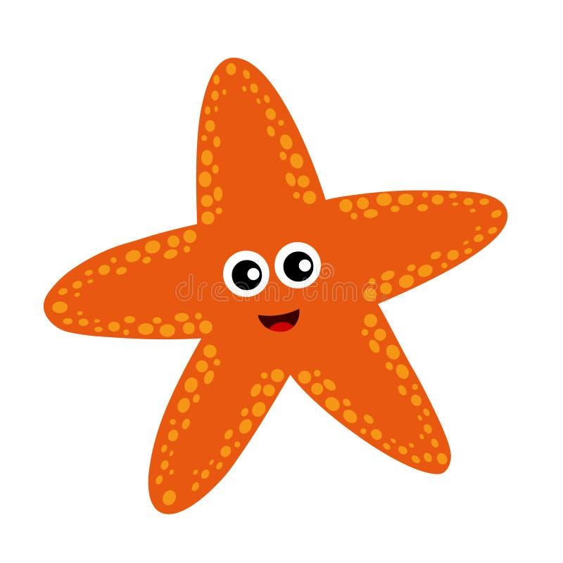 Ψάρια αστεριών ελεύθερη απεικόνιση δικαιώματος
