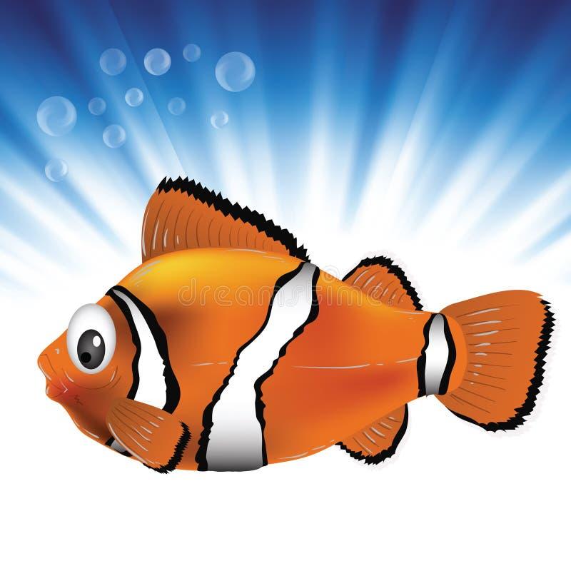 Ψάρια θάλασσας ελεύθερη απεικόνιση δικαιώματος