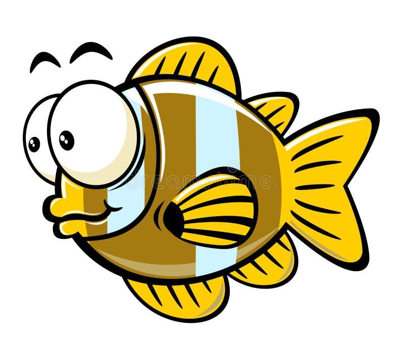 ψάρια κινούμενων σχεδίων απεικόνιση αποθεμάτων