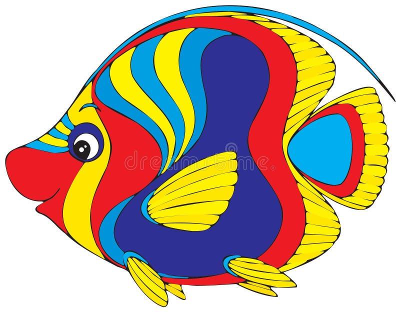 Ψάρια κοραλλιών διανυσματική απεικόνιση