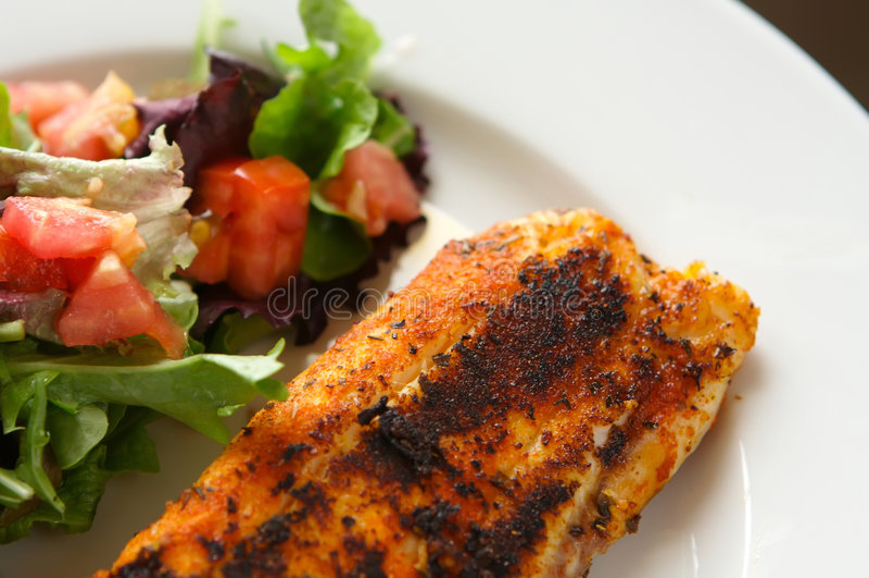 ψάρια λωρίδων που καρυκ&epsilo στοκ εικόνες