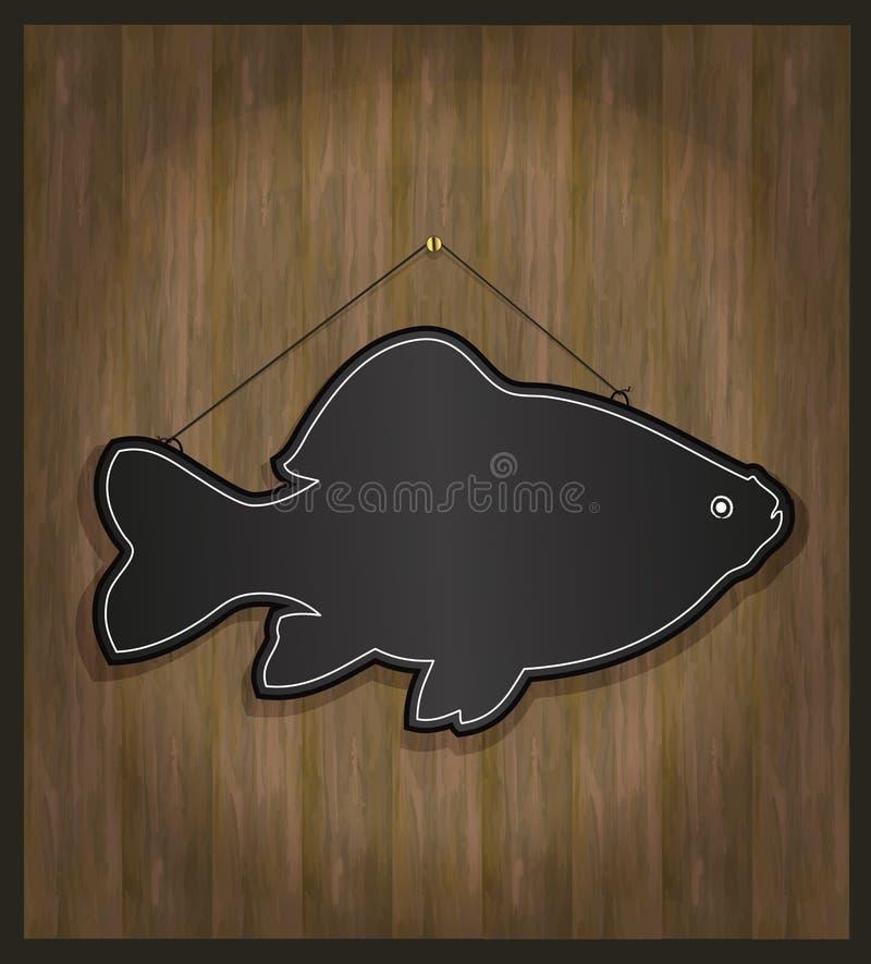ψάρια πινάκων ελεύθερη απεικόνιση δικαιώματος