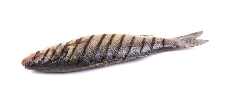 ψάρια που ψήνονται στη σχάρ&alp στοκ φωτογραφίες