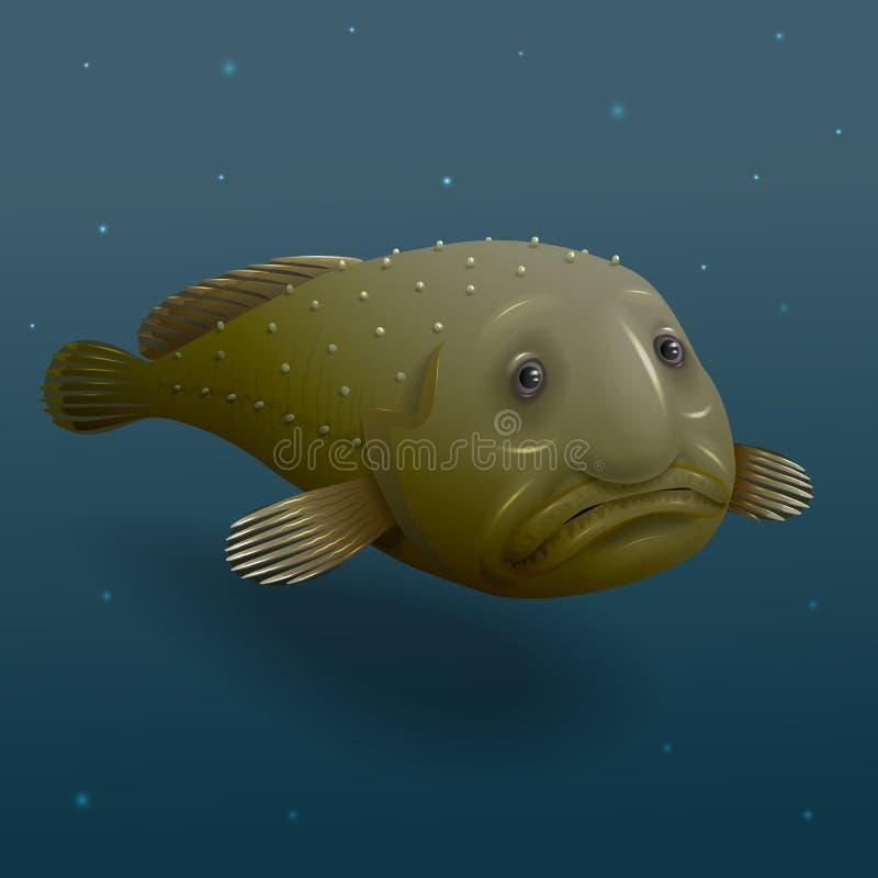 Ψάρια σταγόνων διανυσματική απεικόνιση