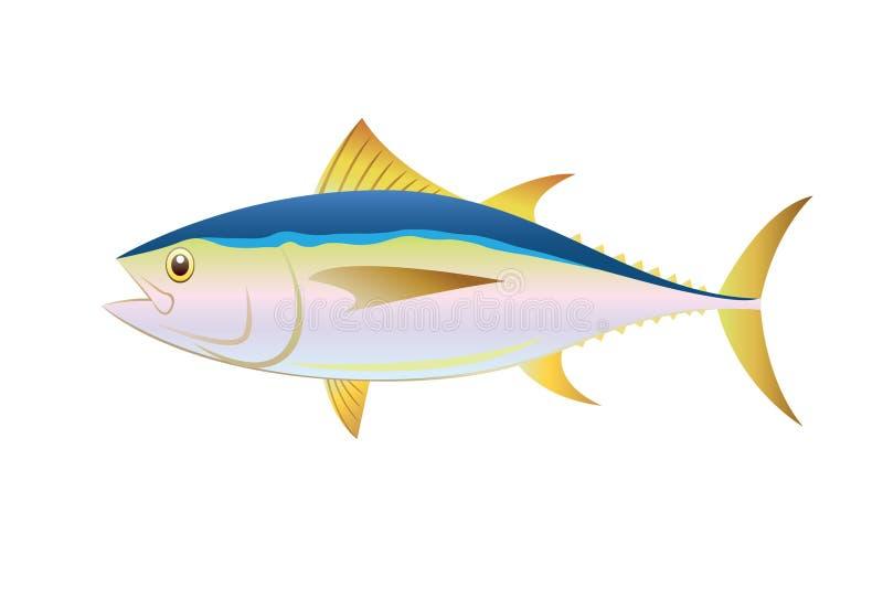 Ψάρια τόνου απεικόνισης απεικόνιση αποθεμάτων