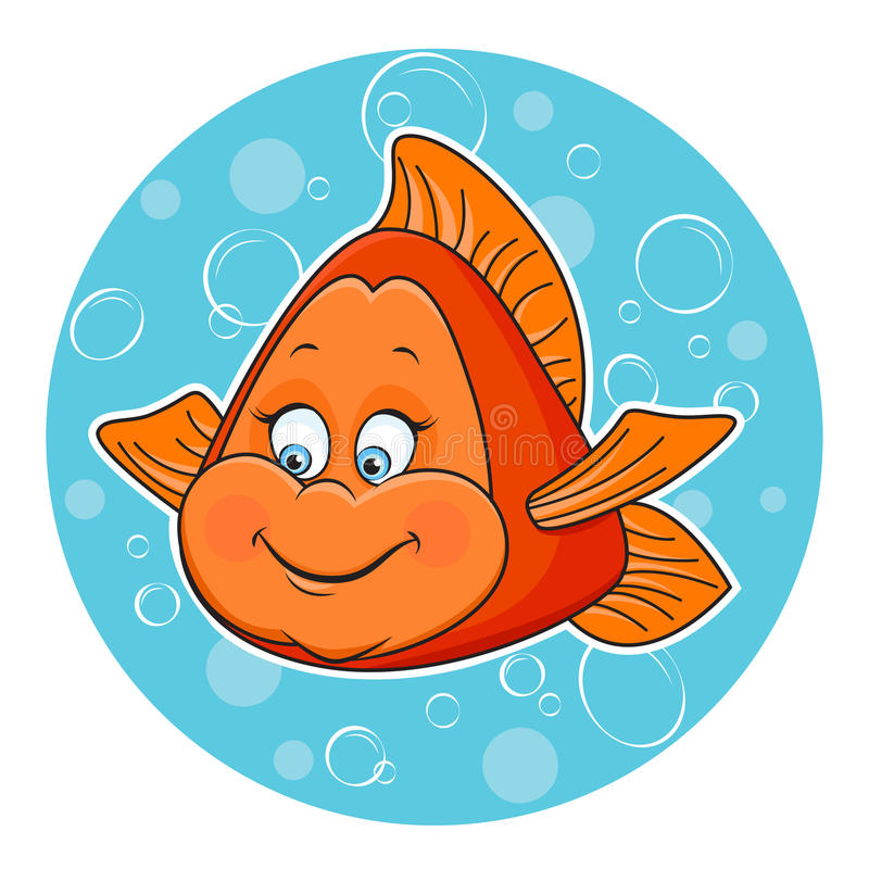 ψάρια χρυσά διανυσματική απεικόνιση