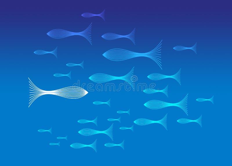 Download ψάρια απεικόνιση αποθεμάτων. εικονογραφία από ομάδα, παιδιών - 1543253