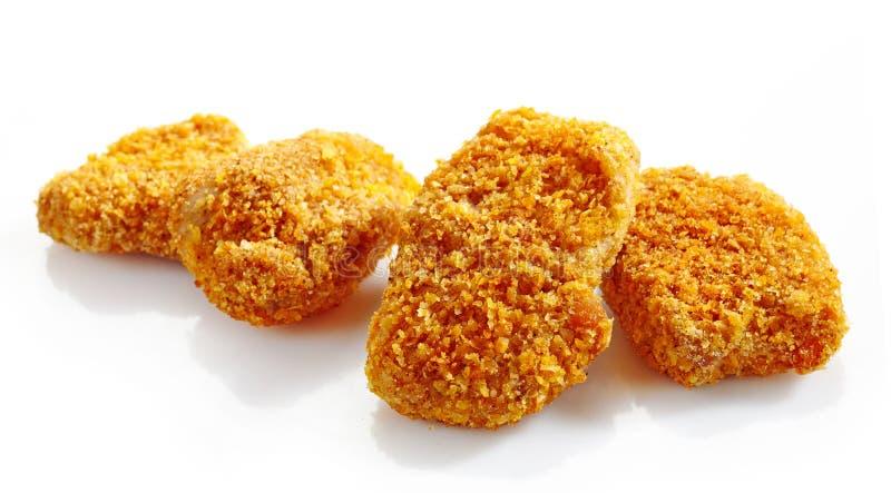 Ψήγματα κοτόπουλου στοκ φωτογραφία με δικαίωμα ελεύθερης χρήσης