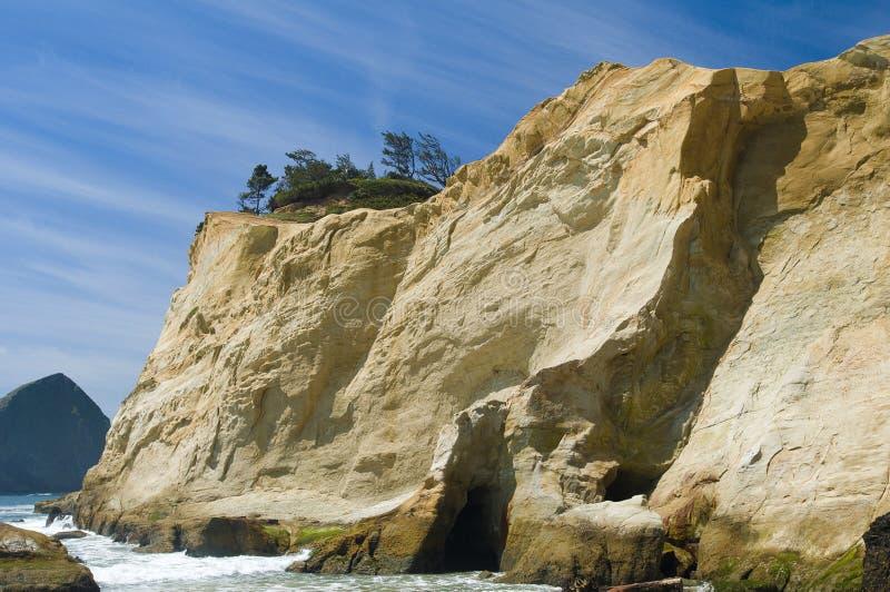 ψαμμίτης απότομων βράχων στοκ φωτογραφίες