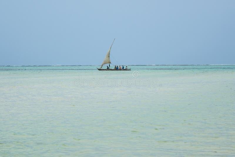 Ψαράδες - Zanzibar - Τανζανία στοκ εικόνα με δικαίωμα ελεύθερης χρήσης