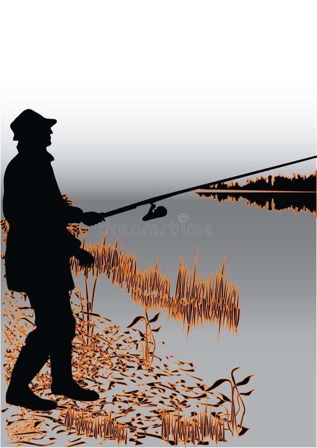 ψαράς ελεύθερη απεικόνιση δικαιώματος