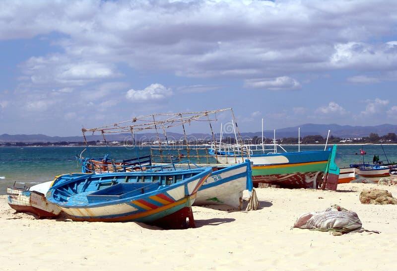 ψαράς s Τυνησία βαρκών στοκ φωτογραφία με δικαίωμα ελεύθερης χρήσης