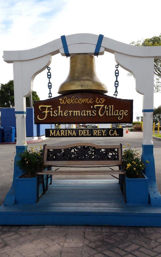 Ψαράς ` s Village Marina del Rey, Καλιφόρνια στοκ φωτογραφίες με δικαίωμα ελεύθερης χρήσης