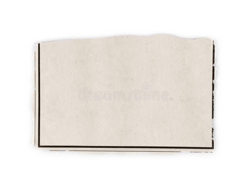 Ψαλίδισμα εφημερίδων των αγγελιών ανάγκης στοκ εικόνα