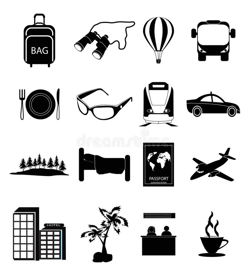 ψαλίδισμα του ψηφιακού ταξιδιού γρατσουνιών μονοπατιών εικονιδίων συμπεριλαμβανόμενου απεικόνιση ελεύθερη απεικόνιση δικαιώματος