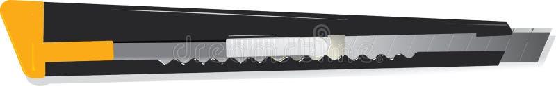 ψαλιδίζοντας απομονωμένο λευκό βοηθήματος μονοπατιών μαχαιριών ελεύθερη απεικόνιση δικαιώματος
