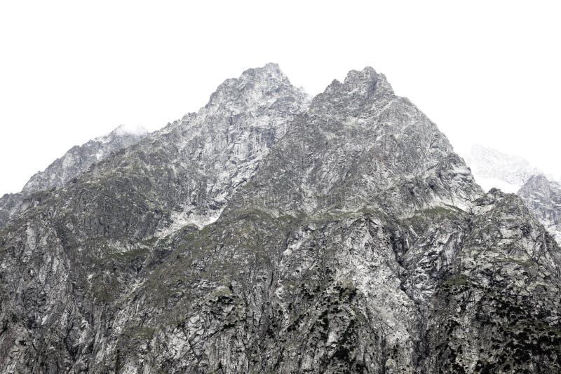 Ψηλά βουνά στα ιταλικά όρη στοκ εικόνα