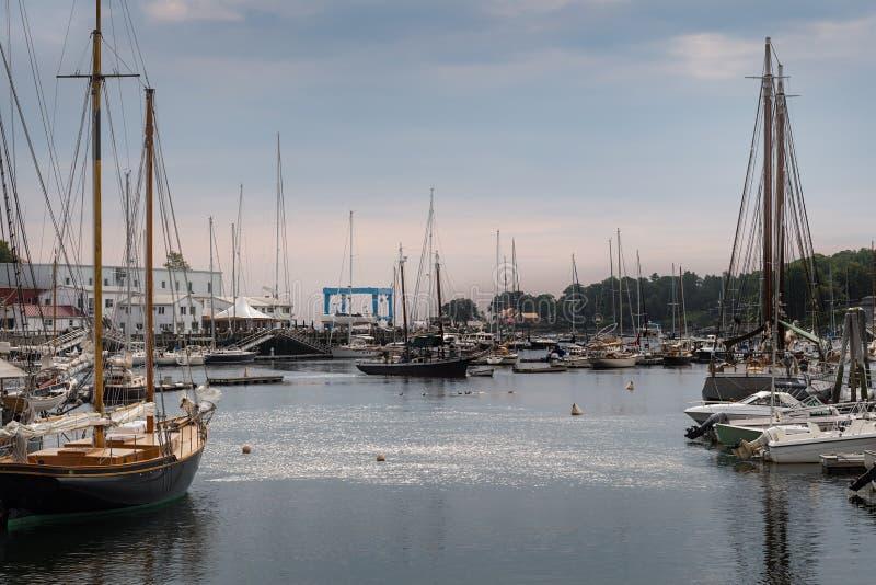 Ψηλά πλοία στο λιμάνι του Κάμντεν στοκ φωτογραφίες