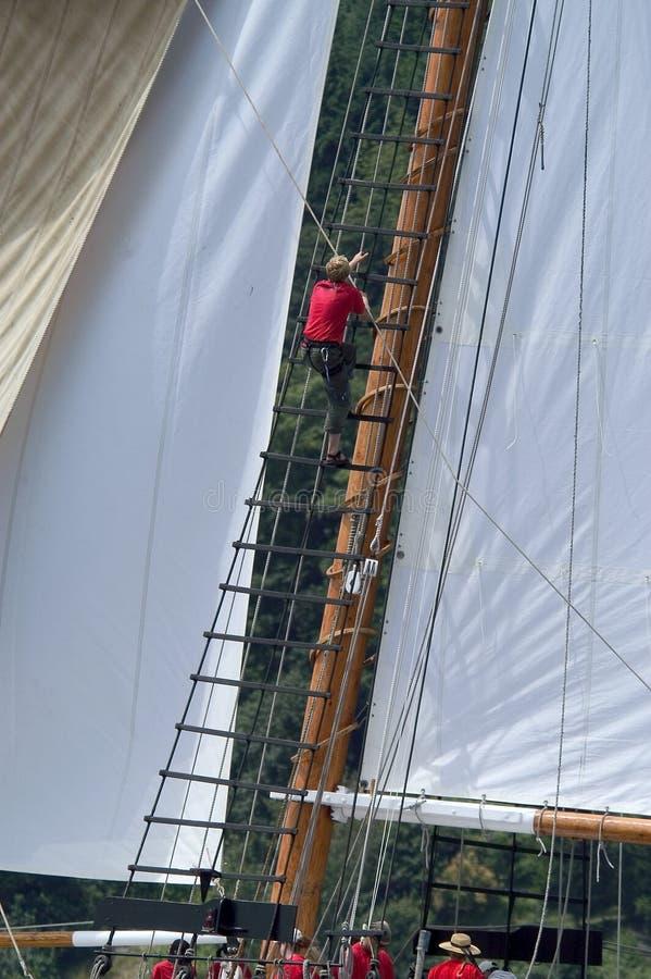Ψηλό σκάφος εν εξελίξει στο ψηλό φεστιβάλ σκαφών, 2005 στοκ εικόνα
