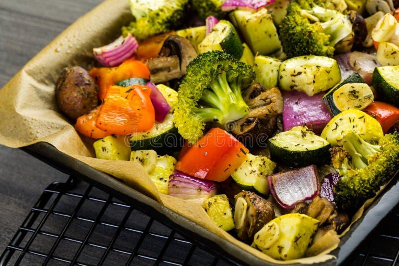 ψημένα λαχανικά στοκ φωτογραφία