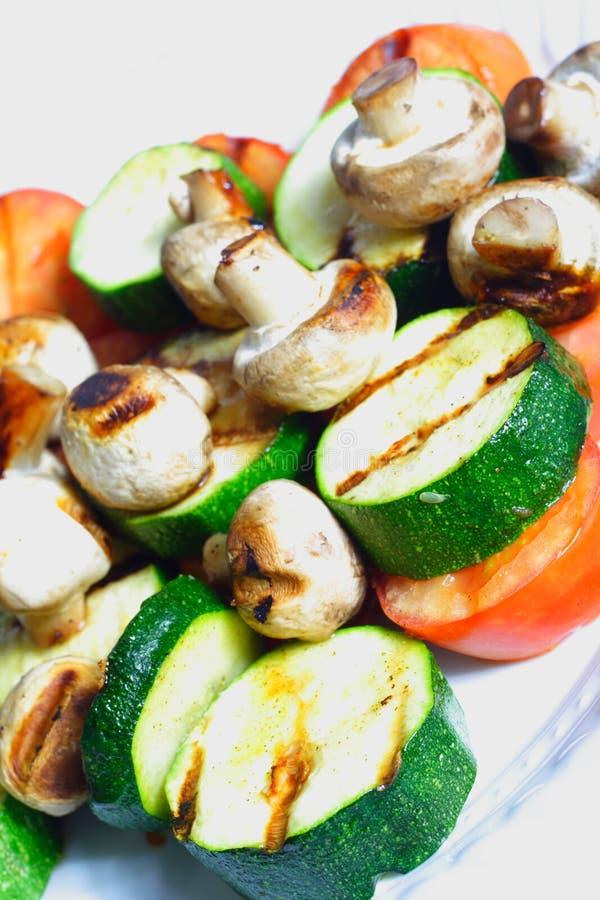 ψημένα στη σχάρα λαχανικά στοκ φωτογραφίες με δικαίωμα ελεύθερης χρήσης