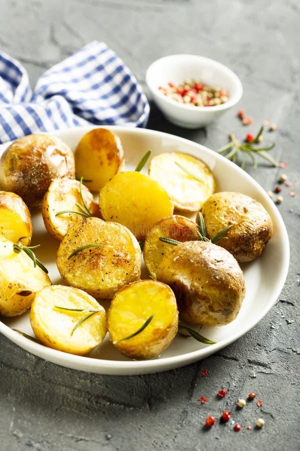 ψημένες πατάτες στοκ φωτογραφίες