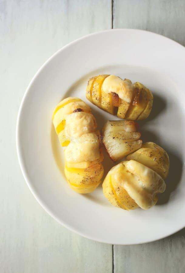 ψημένες πατάτες στοκ φωτογραφία