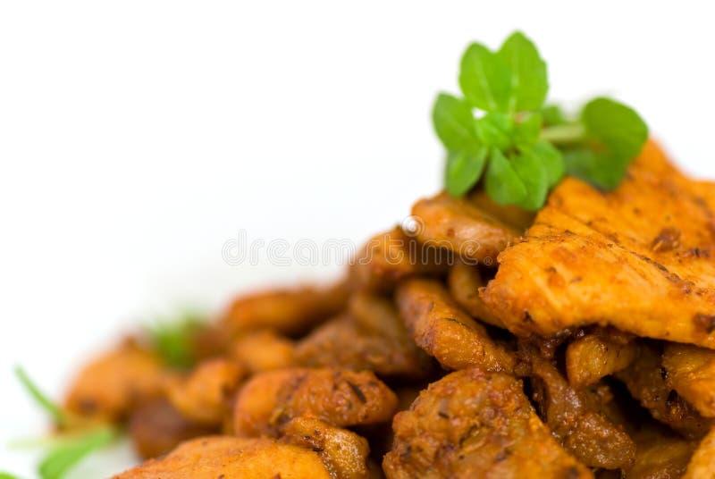 ψημένες χοιρινό κρέας φέτε&sigmaf στοκ φωτογραφίες με δικαίωμα ελεύθερης χρήσης