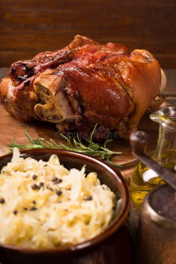 Ψημένη κνήμη χοιρινού κρέατος στοκ φωτογραφία με δικαίωμα ελεύθερης χρήσης