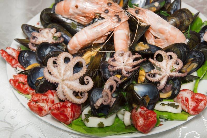 ψημένη πιάτο θάλασσα μαϊντανού τροφίμων ψαριών στοκ εικόνες με δικαίωμα ελεύθερης χρήσης