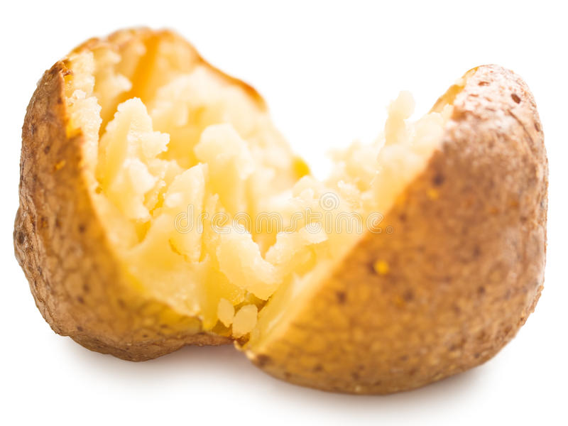 ψημένη σαφής πατάτα στοκ φωτογραφία με δικαίωμα ελεύθερης χρήσης