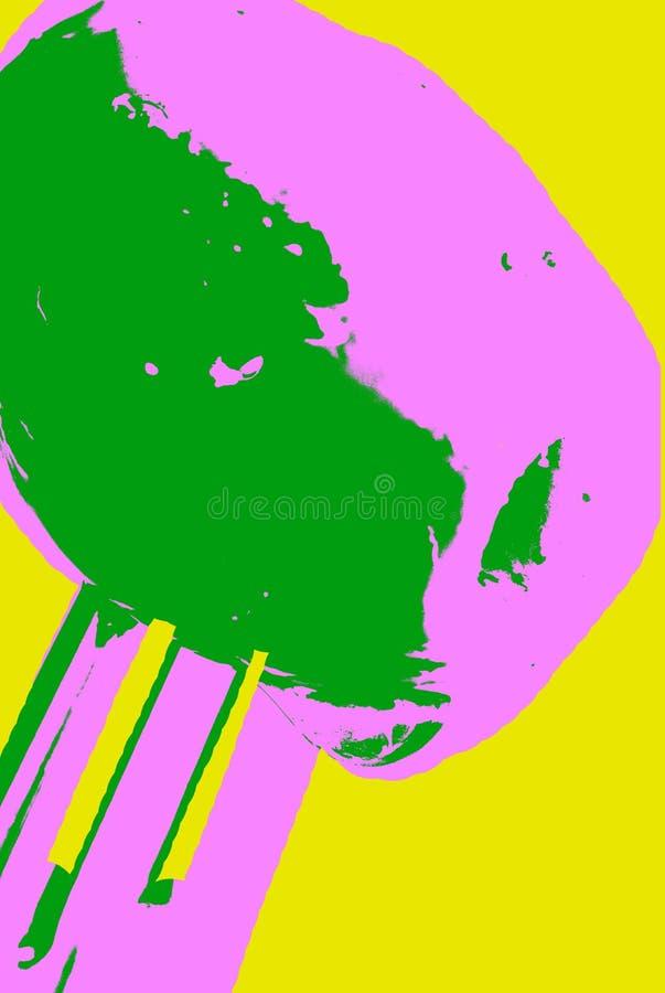 Ψημένη στη σχάρα ελιά στο δίκρανο ελεύθερη απεικόνιση δικαιώματος
