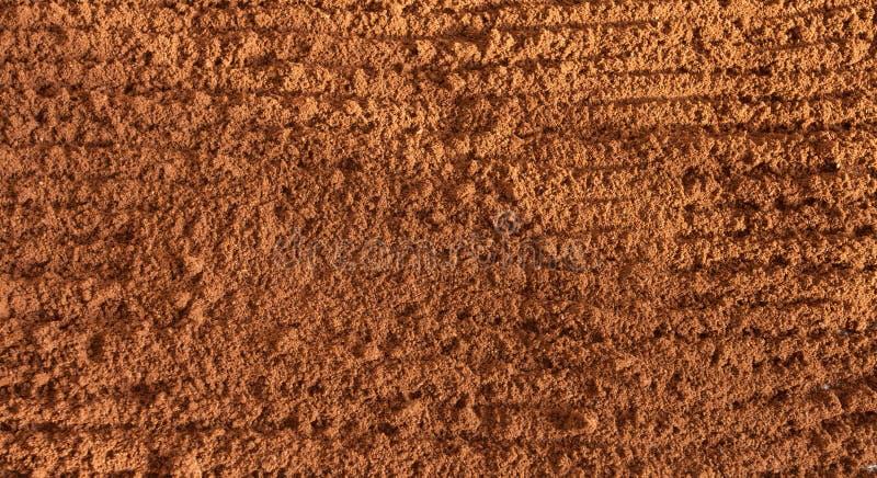 Ψημένος κομματιασμένος καφές ως υπόβαθρο στοκ εικόνα με δικαίωμα ελεύθερης χρήσης