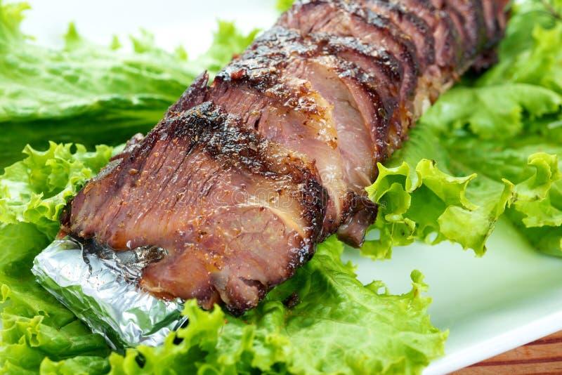 Ψημένο βόειο κρέας στοκ εικόνα