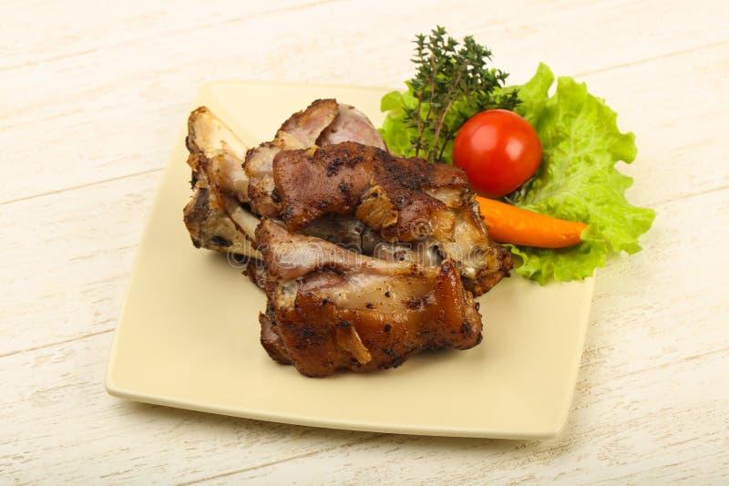 Ψημένο γόνατο χοιρινού κρέατος στοκ εικόνες με δικαίωμα ελεύθερης χρήσης