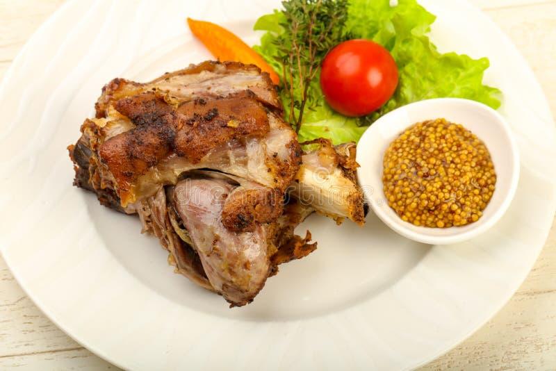 Ψημένο γόνατο χοιρινού κρέατος στοκ φωτογραφία με δικαίωμα ελεύθερης χρήσης