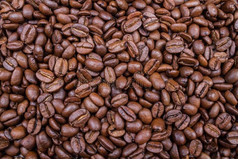 Ψημένο καφετί υπόβαθρο αρώματος φασολιών καφέ στοκ φωτογραφίες με δικαίωμα ελεύθερης χρήσης