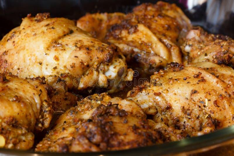 ψημένο κοτόπουλο στοκ εικόνες με δικαίωμα ελεύθερης χρήσης