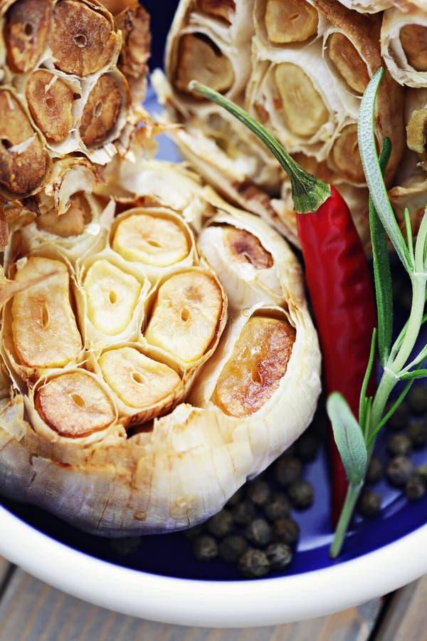 Ψημένο σκόρδο στοκ φωτογραφία με δικαίωμα ελεύθερης χρήσης