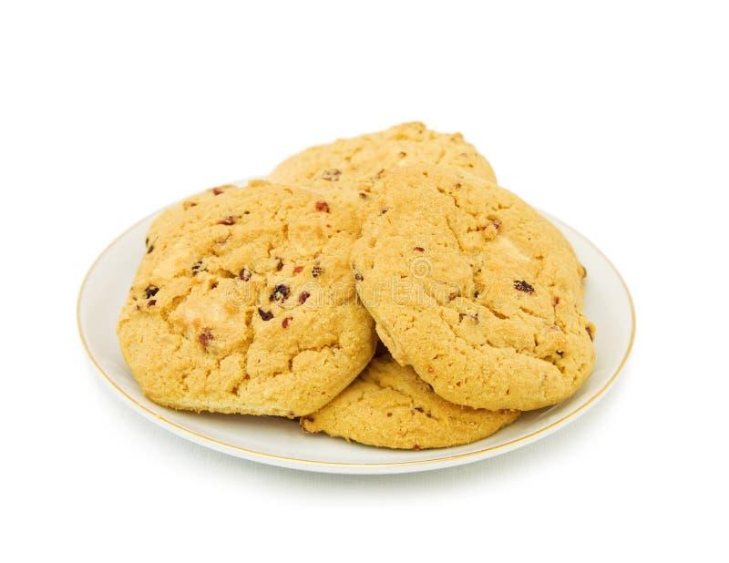 ψημένο σπίτι μπισκότων στοκ εικόνες