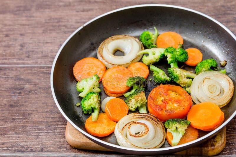 Ψημένο στη σχάρα λαχανικό στοκ φωτογραφία