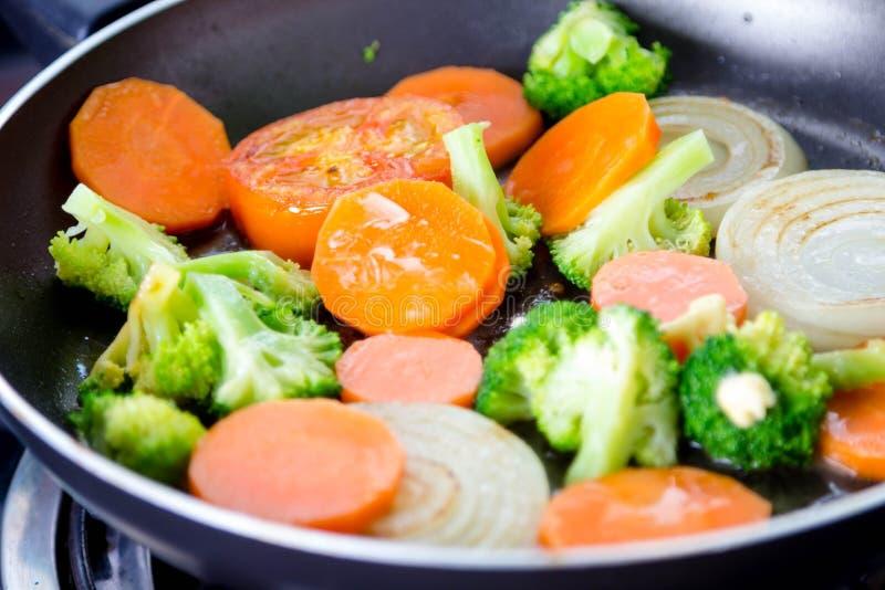 Ψημένο στη σχάρα λαχανικό στοκ φωτογραφίες με δικαίωμα ελεύθερης χρήσης