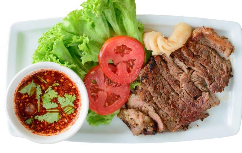 ψημένο στη σχάρα βόειο κρέας tenderloin στοκ φωτογραφία με δικαίωμα ελεύθερης χρήσης