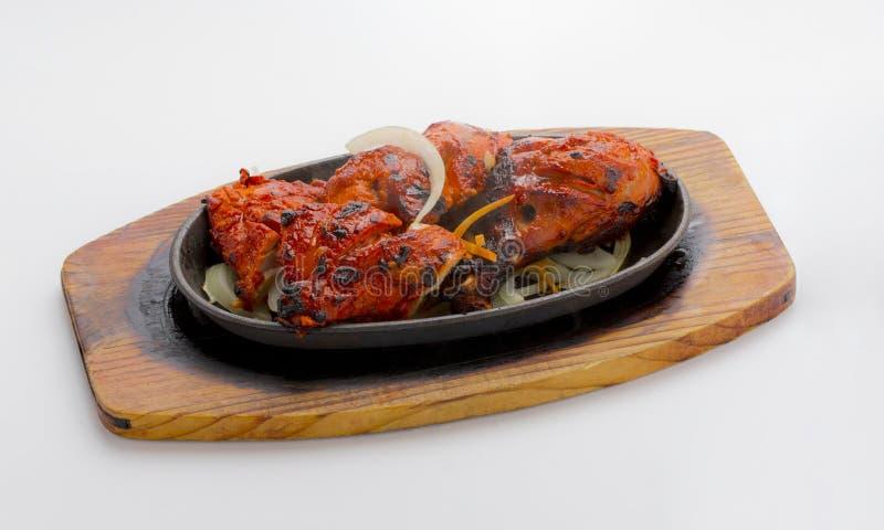 Ψημένο στη σχάρα πικάντικο κοτόπουλο στοκ φωτογραφίες με δικαίωμα ελεύθερης χρήσης
