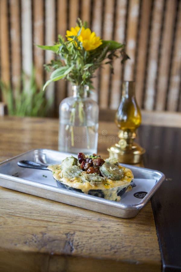 Ψημένο τυρί της Mac ν στοκ εικόνες με δικαίωμα ελεύθερης χρήσης