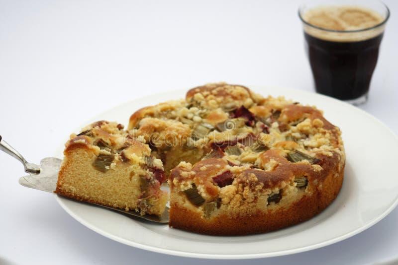 ψημένο φρέσκο fruitcake στοκ εικόνες με δικαίωμα ελεύθερης χρήσης