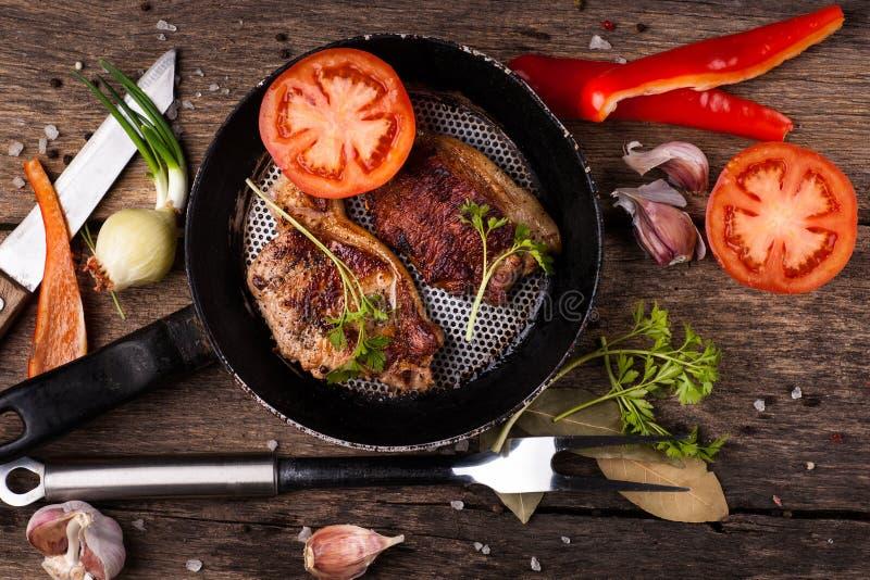 ψημένο χοιρινό κρέας κρέατο στοκ εικόνα με δικαίωμα ελεύθερης χρήσης