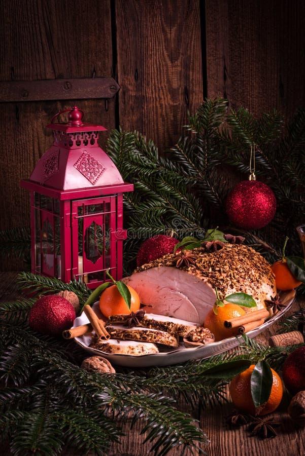 Ψητό Τουρκία Χριστουγέννων στοκ φωτογραφίες