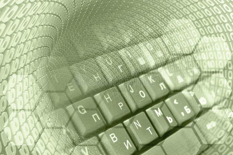 Ψηφία και το πληκτρολόγιο στοκ εικόνα με δικαίωμα ελεύθερης χρήσης