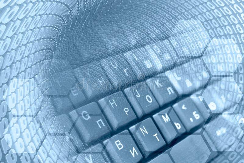Ψηφία και το πληκτρολόγιο στοκ φωτογραφία με δικαίωμα ελεύθερης χρήσης